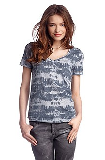 T-shirt à encolure en V, Vonke
