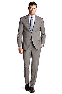 New wool business suit 'The Keys10/Shaft2'