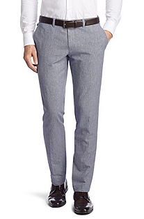 Regular Fit business trousers 'Wing1-W'