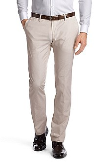 Slim Fit business trousers 'Stanino3-W'