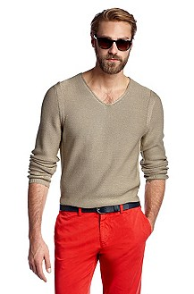 Regular-Fit Pullover ´Filip` aus Baumwolle