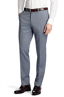 Pure new wool business trousers 'Genesis1'