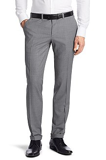 Houndstooth suit trousers 'Winning'