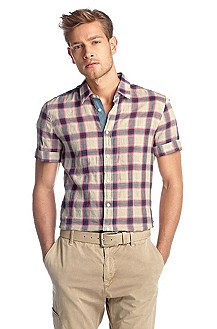 Casual shirt with Kent collar 'Cliffi'
