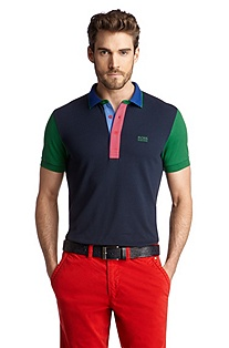 Cotton polo shirt 'Pedro'