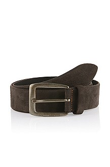 Leather belt 'Jesof'