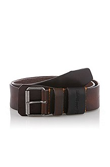 Belt with rectangular pin buckle 'Julyus'