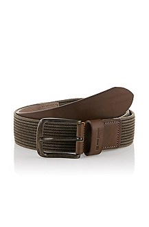 Ceinture à boucle à ardillon rectangle, Jeberto