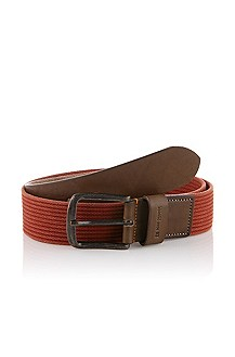 Belt with square pin buckle 'Jeberto'