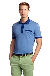 Pure cotton polo shirt 'Paddys'