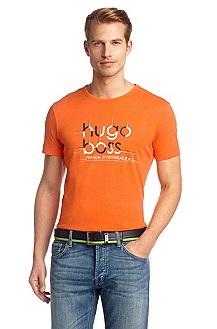 T-shirt with a round neckline 'Teeos'