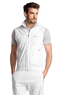 Gilet Regular Fit en pur coton, Soron