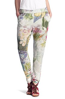 Legging ´Seli` met bloemenpatroon all-over