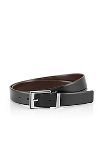 Reversible belt in a gift box 'Gerio'