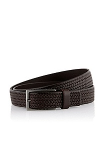 Leather belt 'Cersten'