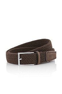 Belt with a rectangular pin buckle 'Calinos'