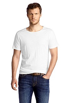 T-shirt with a round neckline 'Tressure'
