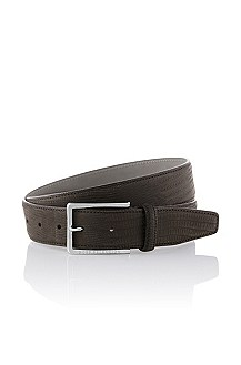 Belt in fine cowhide leather 'Luxiano'