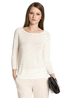 Cotton sweater from HUGO 'Sendie'