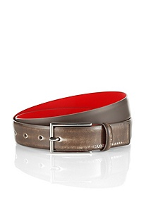 Leather belt with pin buckle 'Gereon-F'