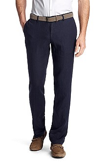 Pantalon business Slim Fit en lin, Stanino3-W
