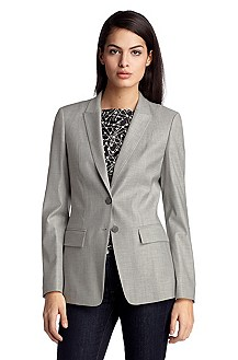Blazer with cotton 'Juicylana'