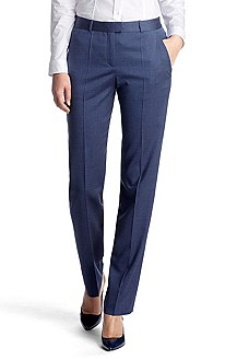 High-quality viscose blend trousers 'Tegy'