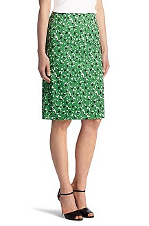 Cotton/elastane sheath skirt 'Veronita'