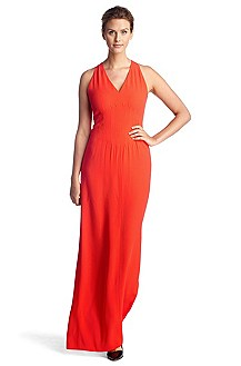 V-neck evening dress 'Dallisia'