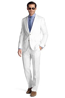 Linen business suit 'The James4/Sharp6'
