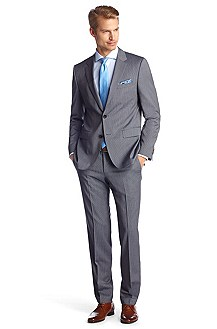 Business suit without a waistcoat 'The James4/Sh