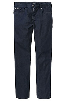 Slim fit jeans in pure cotton 'Delaware'