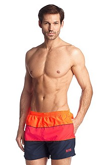 Quick-dry swim shorts 'Pilot fish BM'