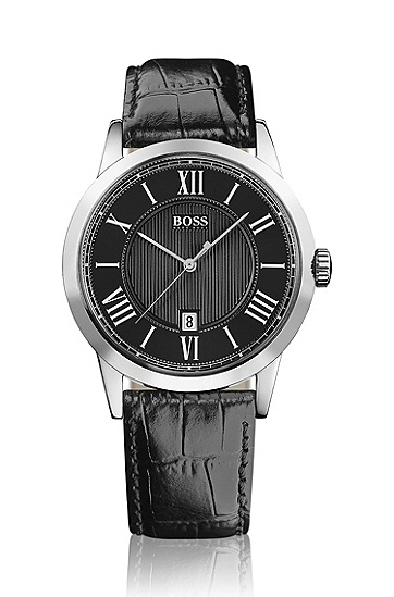 Men's timeless watch with roman numerals, 999_Assorted-Pre-Pack