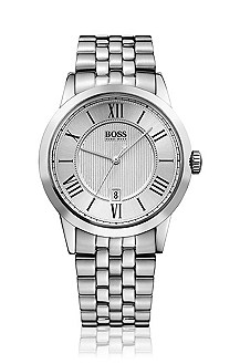 Classic men's watch with roman numerals