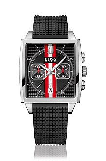 Chronograph with coloured stripes 'H1005'