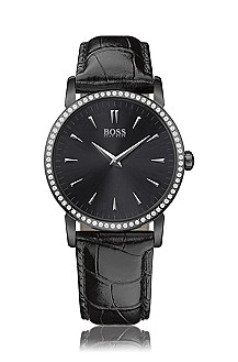 Crystal appliqué watch 'HB4034'