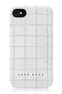 Hard cover for iPhone 4/4S 'Squares White'