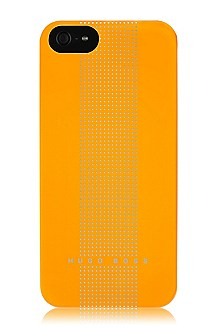 Hardcover ´DOTS YELLOW V` voor iPhone 5
