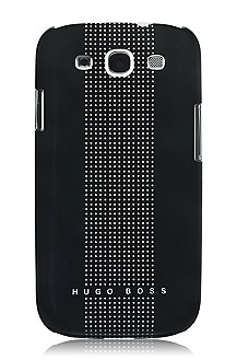 Hard cover ´Dots Black III`voor Samsung Galaxy S