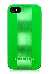 Hard cover for iPhone 4/4 'Dots Green'