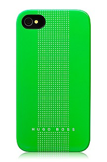 Hardcover ´Dots Green` voor iPhone 4/4S