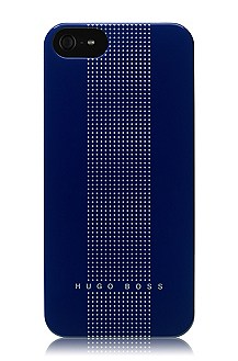 Hardcover ´DOTS BLUE V` voor iPhone 5