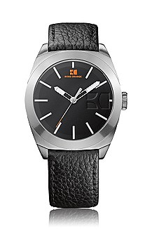 Men's wristwatch, stainless steel case 'HO300'