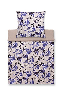 Duvet cover 'Cobalt Leaves'