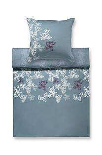 Duvet cover 'PEONY' with filigreed pattern