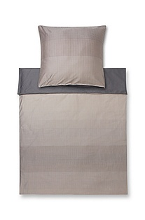 Duvet cover with a geometric pattern 'Pixel'