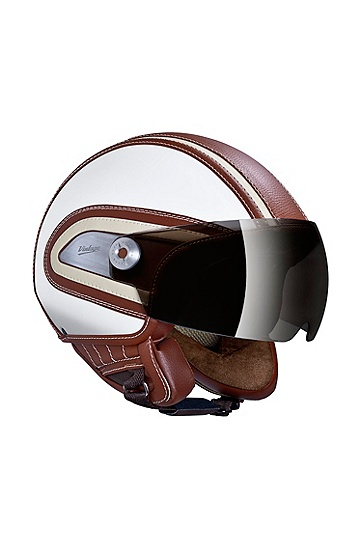 Motorcycle helmet 'HB.02', Brown