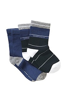 Pack of 2 cotton socks 'J00034/V98'
