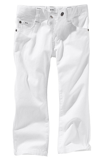 Cotton blend trousers ´J04040`, White